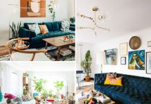11 Blue Velvet Sofa Living Room Ideas