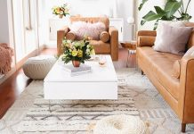 Two-Tone Small Living Room Color Palette
