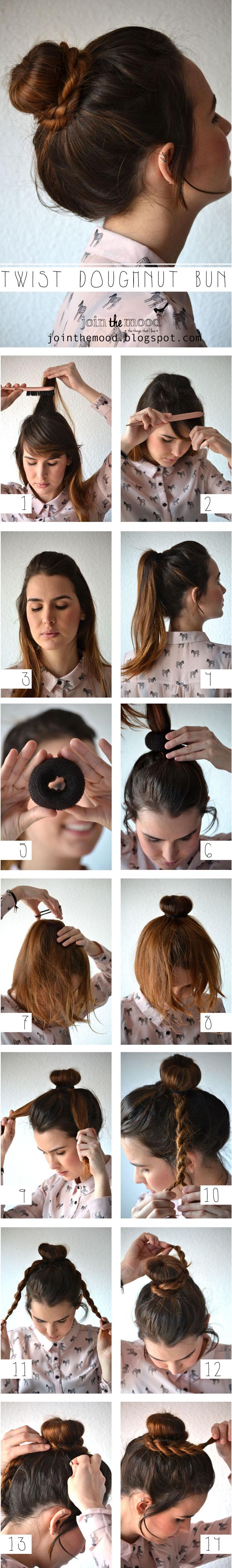 Doughnut Bun Tutorial