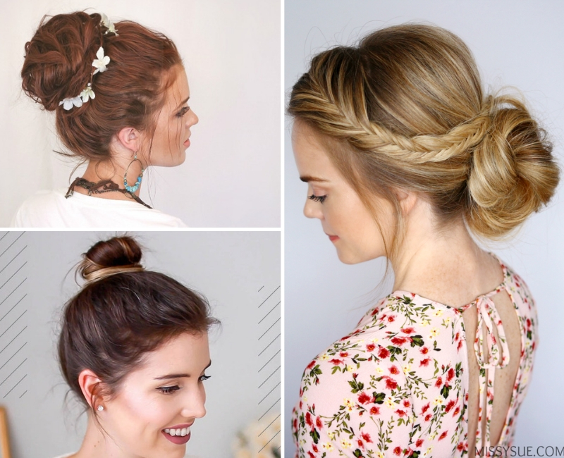 Easy Bun Hairstyles That Look Like They Took Effort
