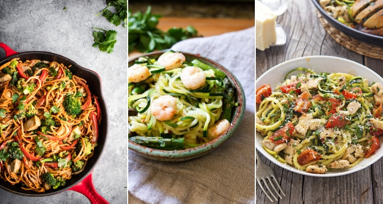 Easy Spiralizer Recipes