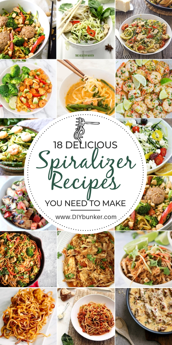 18 Best Spiralizer Recipes
