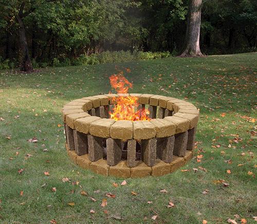 Simple Belgian firepit DIY