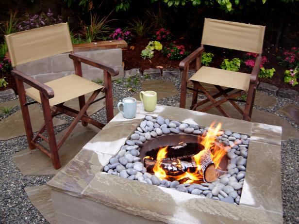 DIY Tabletop Firepit Feature