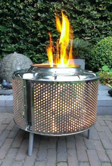 Washing Machine Drum Firepit DIY