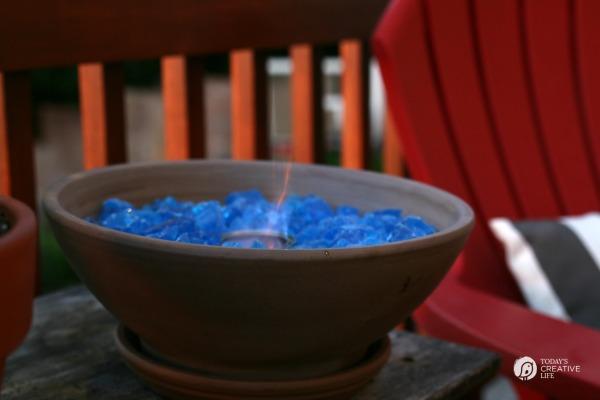 Tabletop Fire Bowl DIY