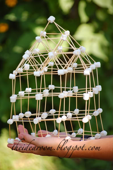 Marshmallow and Toothpick Building