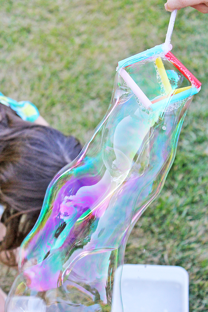 Tensile Bubbles STEM Summer Activity for Kids