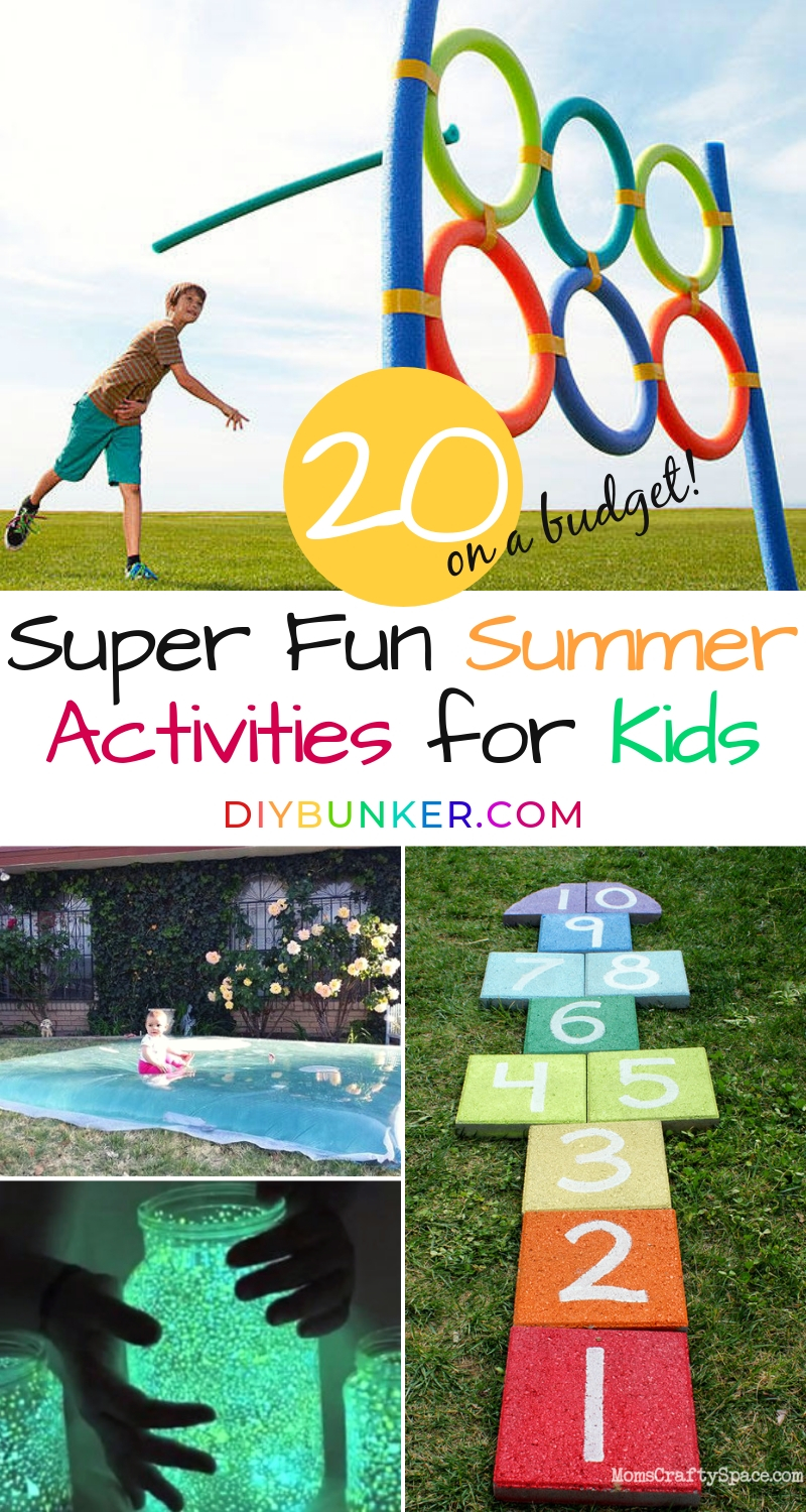 Summer Activities for Kids on a Budget