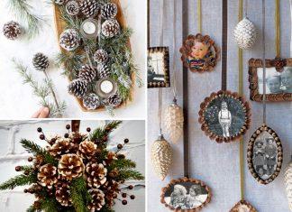 Christmas Pine Cone Crafts