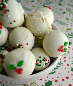 Eggnog Latte Christmas Truffles