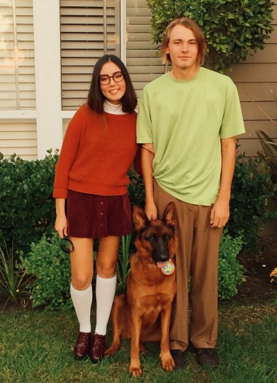 Velma Scooby and Shaggy