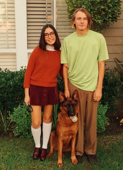 Velma Scooby and Shaggy