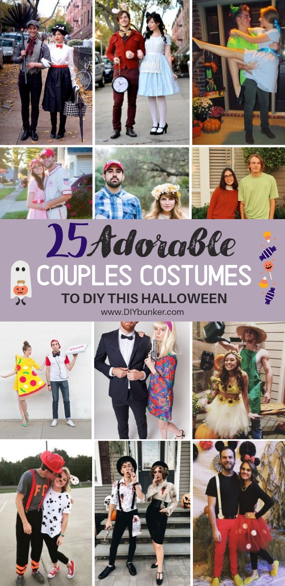 25 Easy Couple Costume Ideas