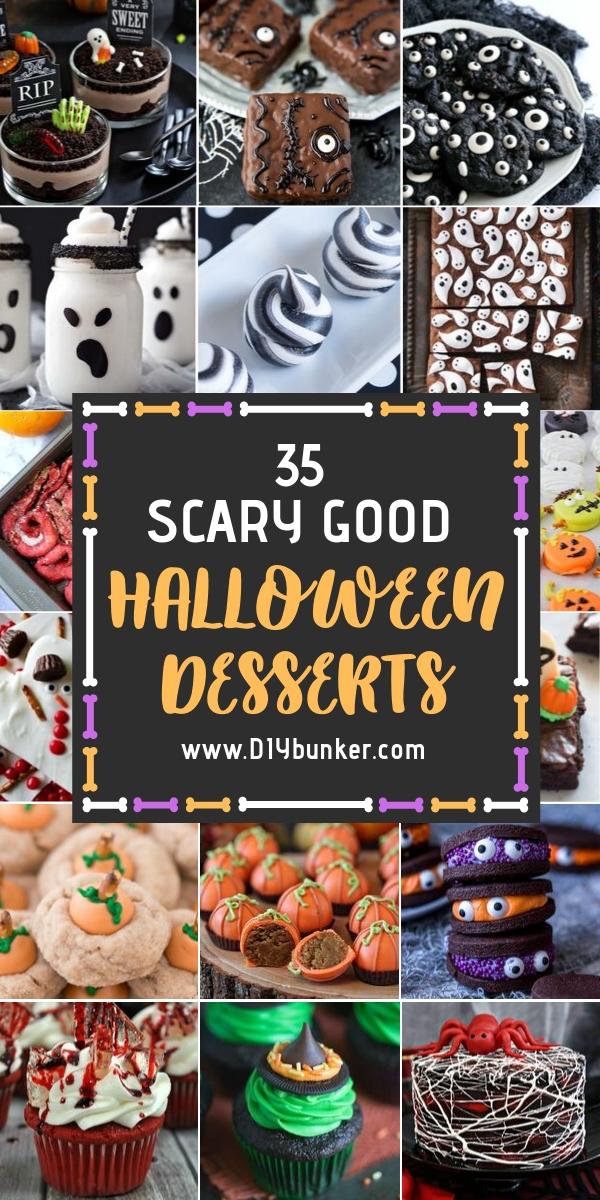 35 Easy Halloween Desserts
