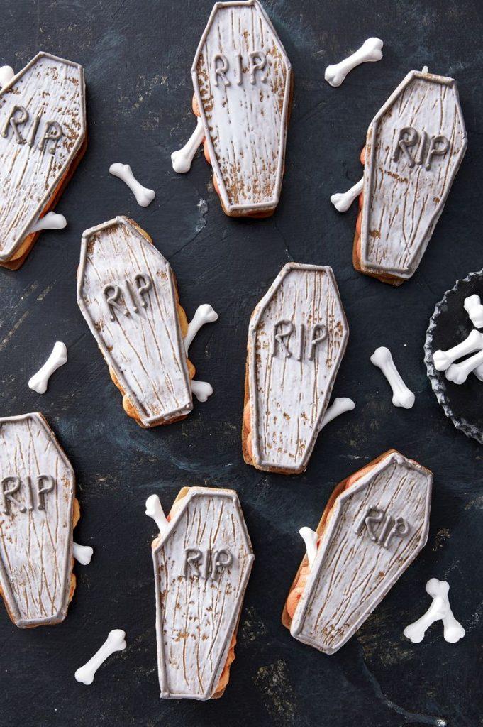 Coffin Sandwich Cookies