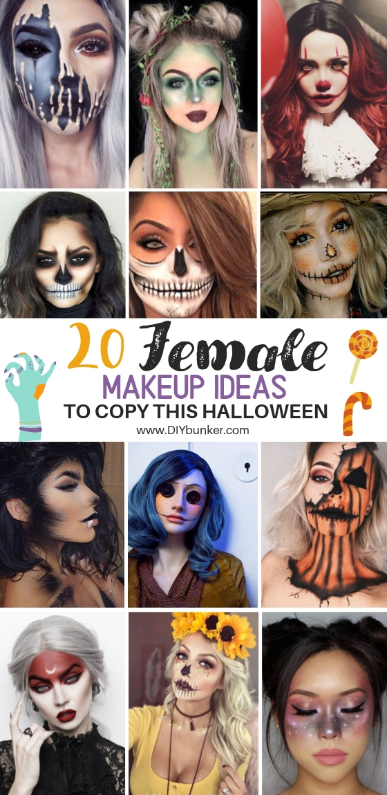 20 Halloween Makeup Ideas for Women