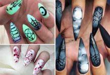 Halloween Nail Art Design Ideas