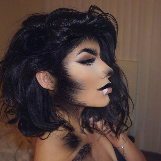 She Wolf - Halloween Makeup Ideas for Women