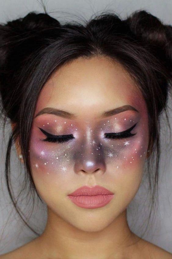 Halloween Celestial Makeup