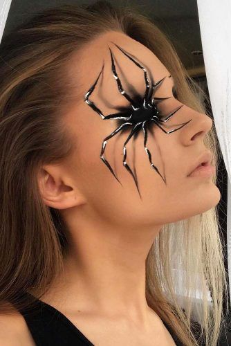 Spider Eye Makeup for Women