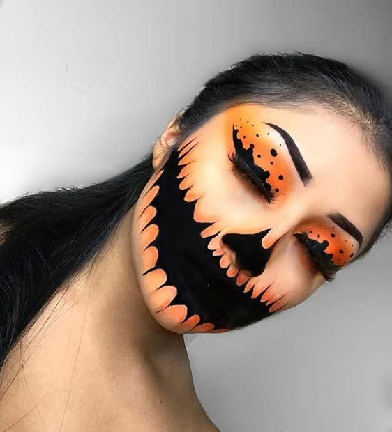 Glam Halloween Makeup for Women