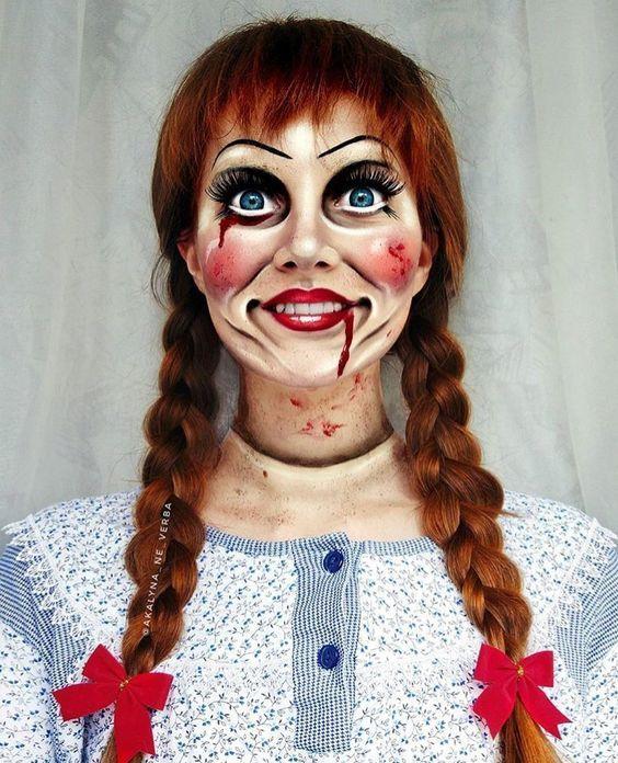Annabelle Makeup