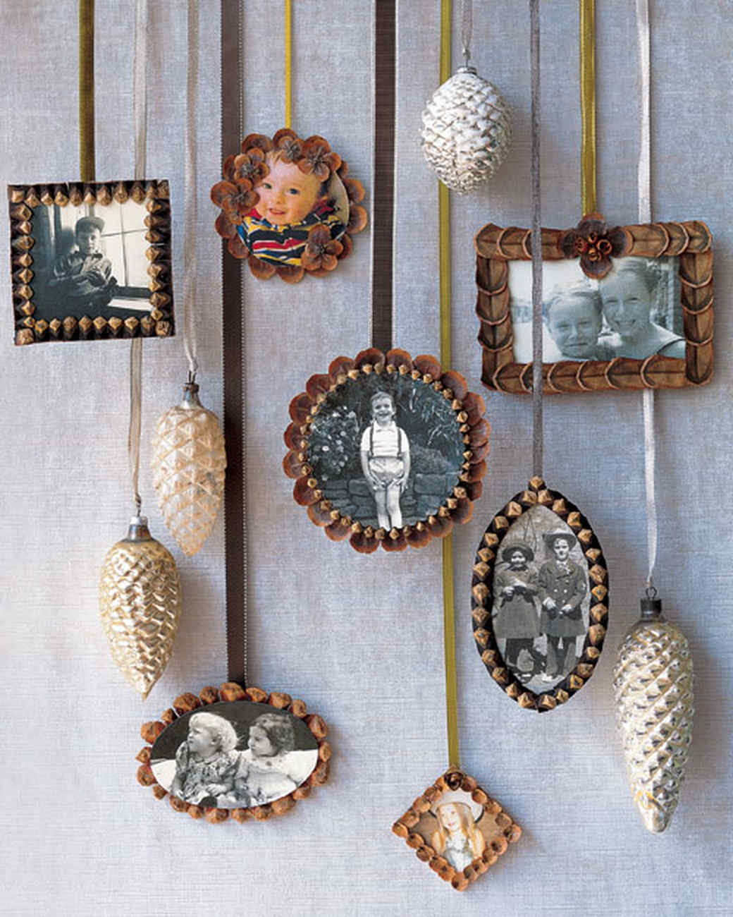 Pine Cone Picture Frame Craft