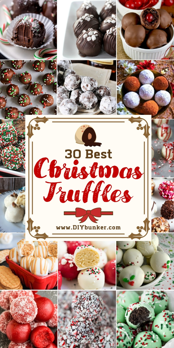 30 Easy Truffle Recipe Ideas for Christmas