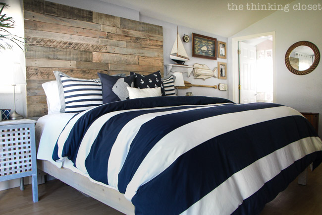 Rustic Nautical Bed Frame DIY