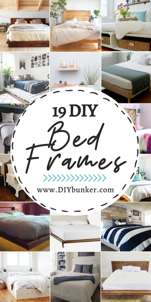 19 DIY Bed Frame Ideas That Look Expensive