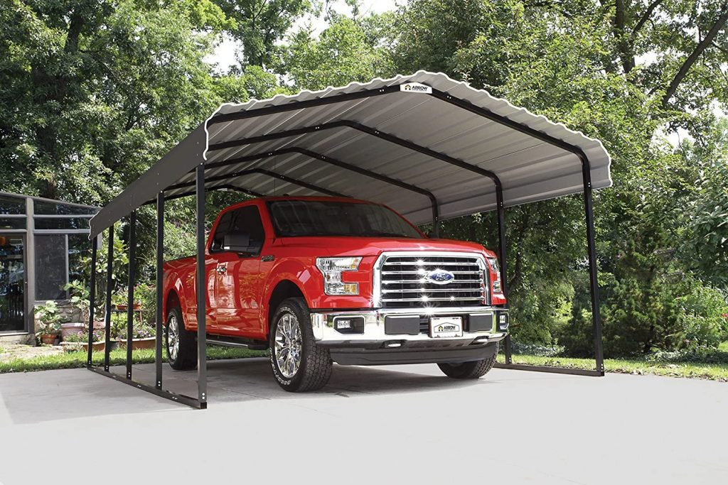 Tall Heavy Duty Metal DIY Carport Kit