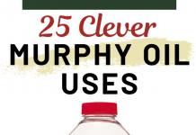 25 Clever Murphy Oil Uses for Your Home and Car