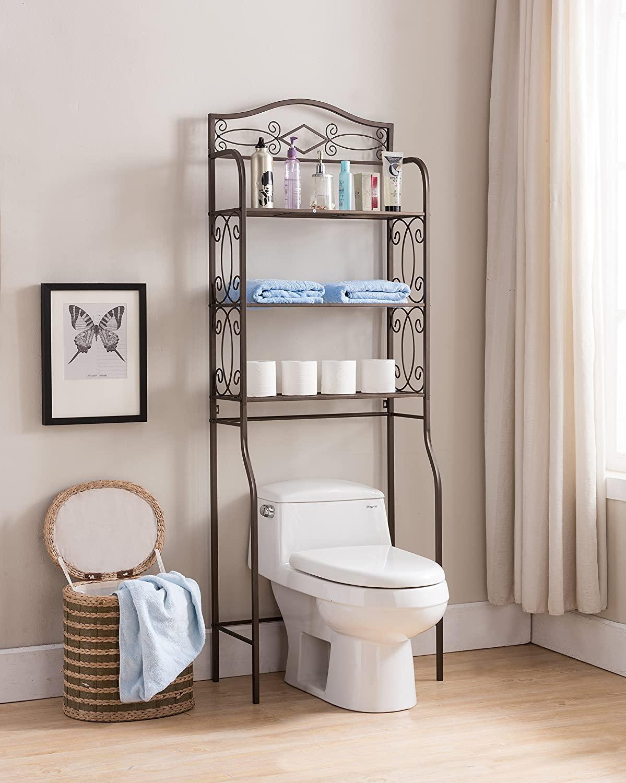 Over the Toilet Storage Ideas