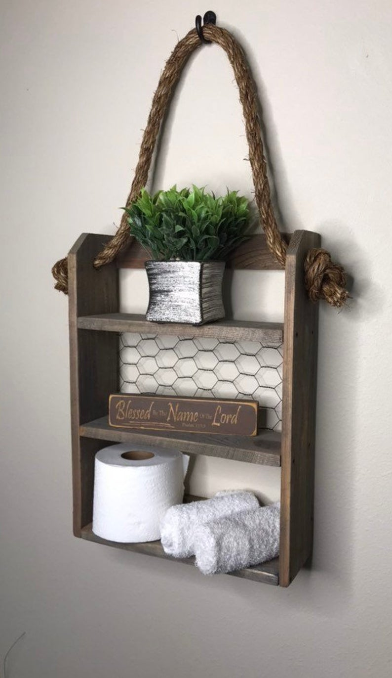 Toilet Paper Storage Idea