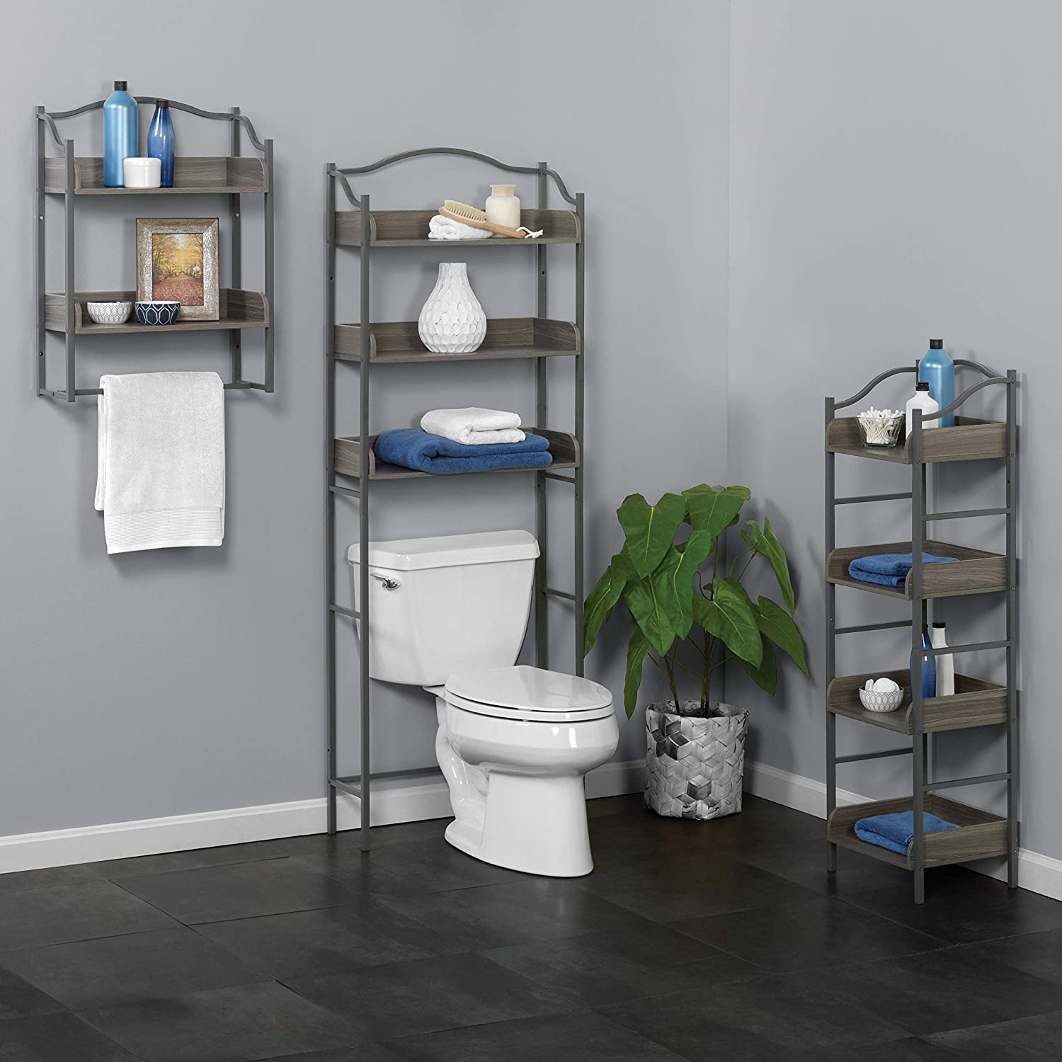 Affordable Over the Toilet Storage Ideas