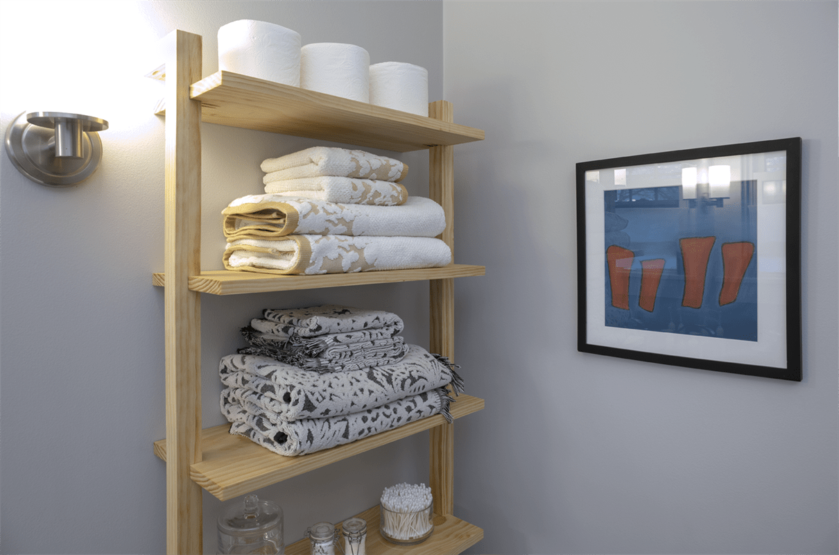 Easy and Cheap DIY Over Toilet Storage Ideas