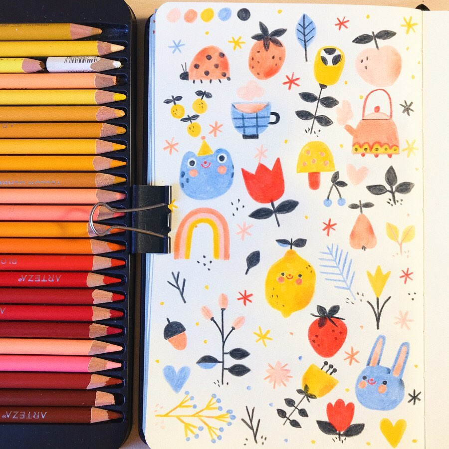 Spring Doodle Ideas