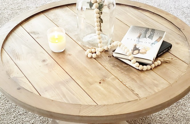 DIY Coffee Table Farmhouse Style