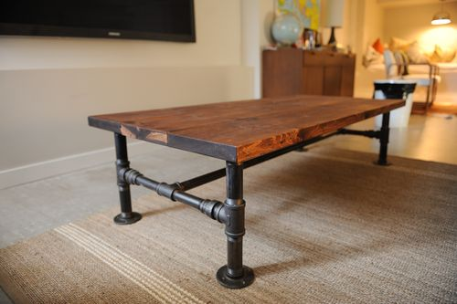 Industrial Coffee Table Plans