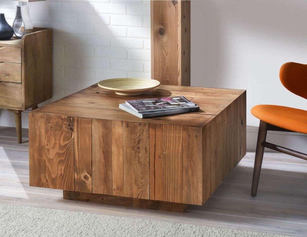 West Elm Style DIY Coffee Table