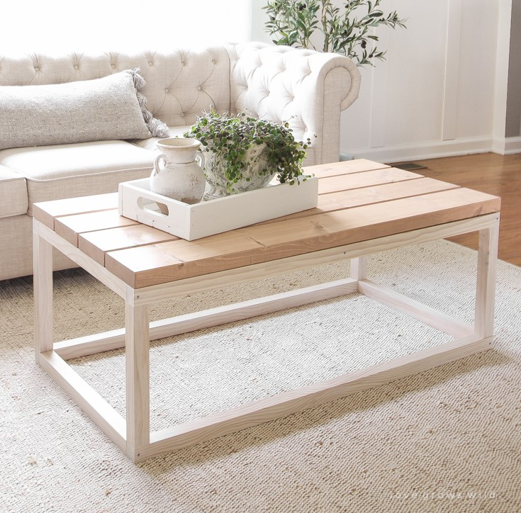 Minimalist DIY Coffee Table