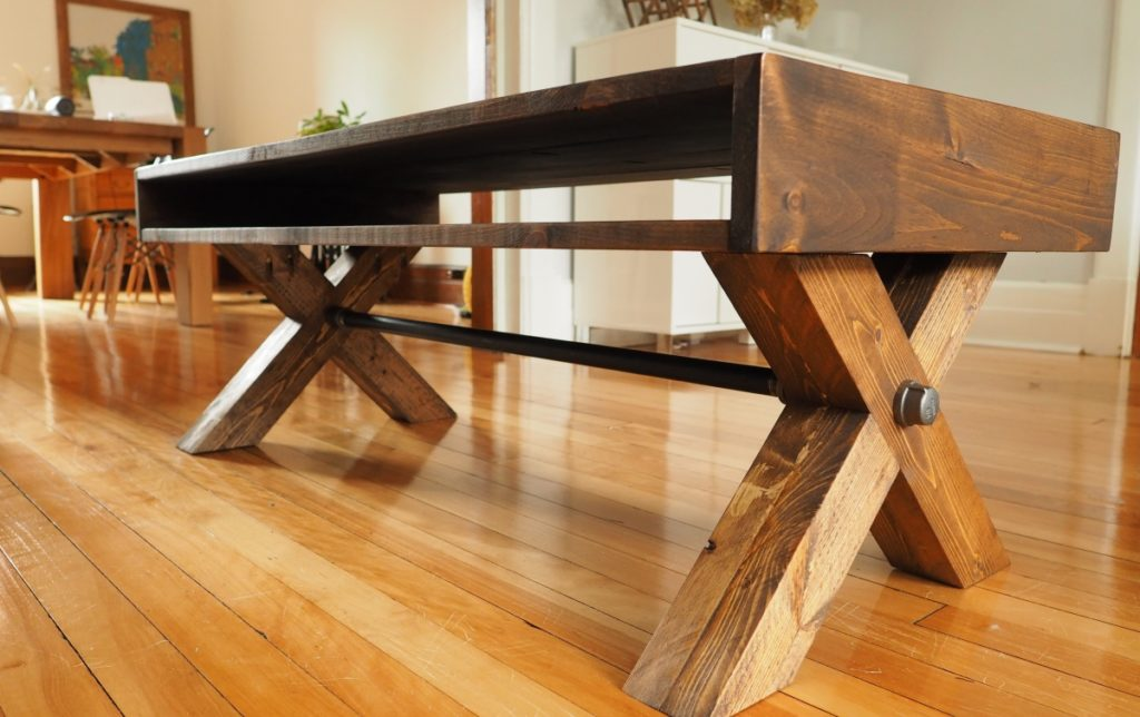 X-Leg Coffee Table Plans