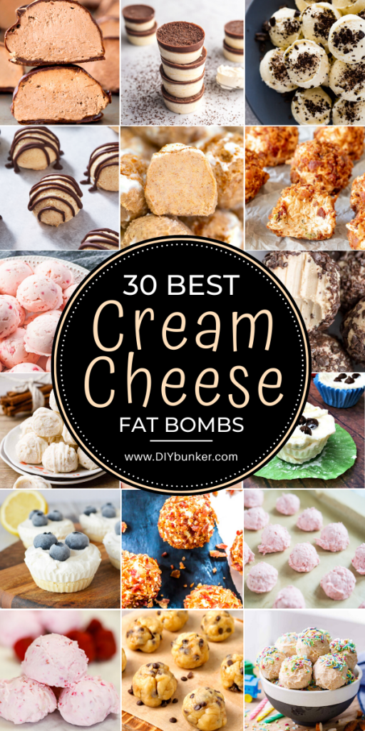 30 Best Cream Cheese Fat Bombs for the Keto Diet