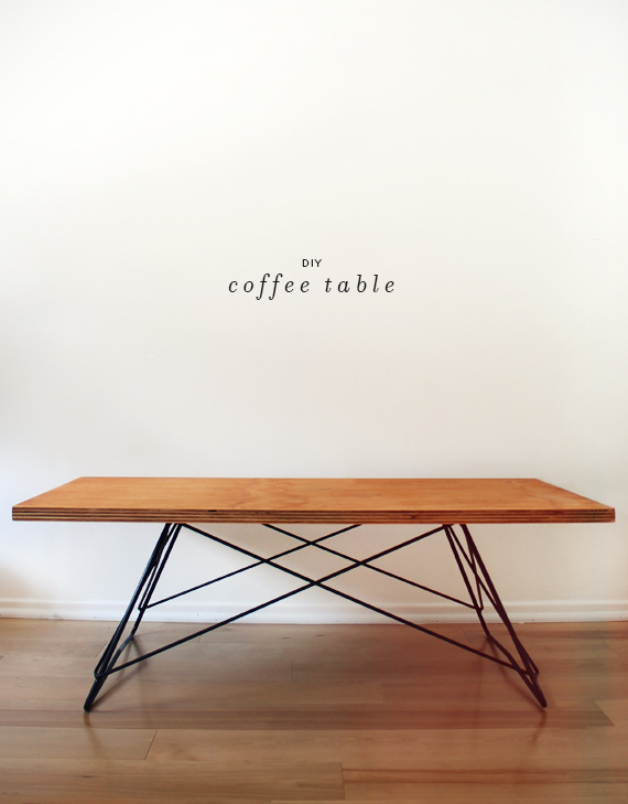 Minimalist Coffee Table DIY