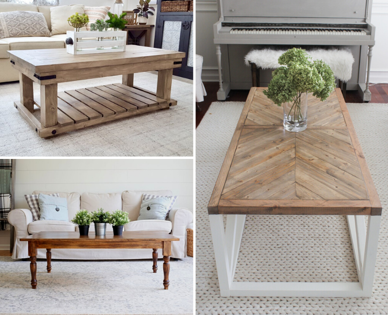 45 Best DIY Coffee Table Ideas for 2020