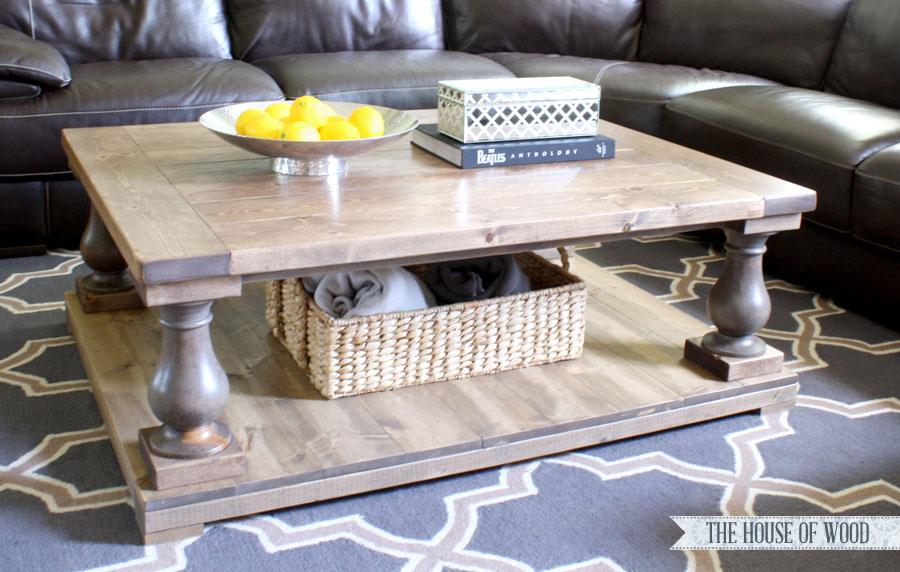 Balustrade Coffee Table Restoration DIY