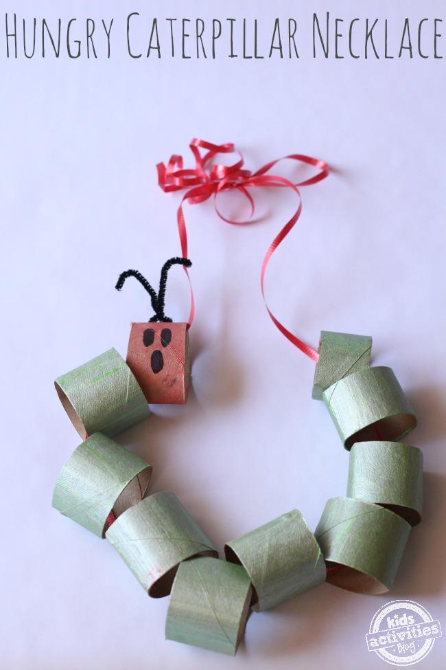 catterpillar necklace