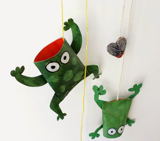 frog toilet paper roll crafts