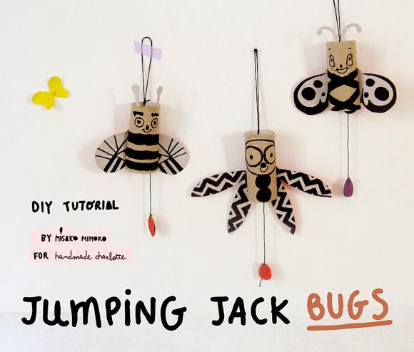jumping jack bugs diy